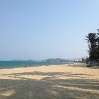 Photo taken at Sheraton Beach by Artem R. on 4/6/2013