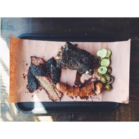Photo taken at Little Miss BBQ by Gabe W. on 2/25/2015