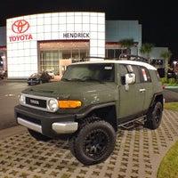 Photo taken at Hendrick Toyota Scion Wilmington by LOYALTOYOTA on 1/12/2014