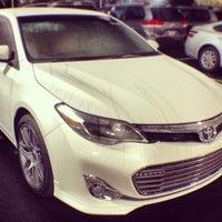 Photo taken at Hendrick Toyota Scion Wilmington by LOYALTOYOTA on 1/24/2014