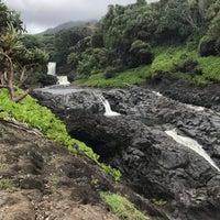 Photo taken at 7 Sacred Pools @ Haleakala State Park by Jay M. on 4/20/2018
