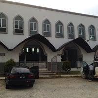 Photo taken at Masjid Al-Hijrah by Zulqarnain A. on 5/8/2015