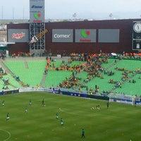 Photo taken at Territorio Santos Modelo Estadio by Gustavo D. on 7/30/2017