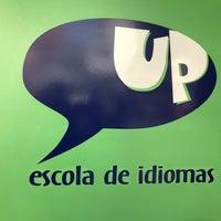 Photo taken at Up Escola de Idiomas by Lisiane C. on 9/27/2017