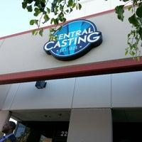 Photo taken at Central Casting by Dustin D. on 4/14/2014