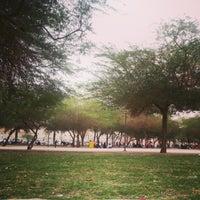 Photo taken at منتزه محمد بن القاسم by Bander A. on 1/31/2013