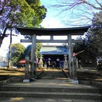 Photo taken at 諏訪神社 by Min Q. on 1/12/2015