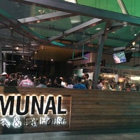 Photo taken at Communal Bar & Kitchen by Mutsumimi T. on 5/20/2017