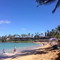 Photo taken at Napili Beach by gabe a. on 3/10/2015