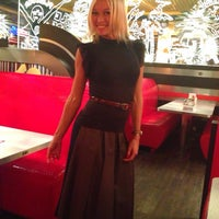 Photo taken at Liberty American Cafe & Coctail Bar by Mila G. on 10/12/2013