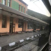 Photo taken at ЖП Гара Своге (Svoge Railway Station) by E D. on 5/10/2017