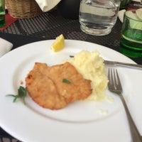 Photo taken at Platina Restaurant & Garden by Zeynep I. on 7/4/2014