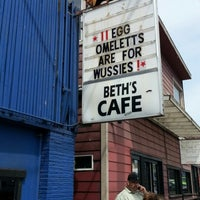 Photo taken at Beth's Café by Dion W. on 6/15/2013