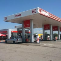 Photo taken at Лукойл (Lukoil) by Fuelo on 5/26/2014