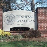 Photo taken at Tennessee Wesleyan College by Angie B. on 11/16/2012