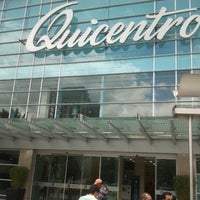 Photo taken at Quicentro Shopping by Reuel R. on 9/17/2012