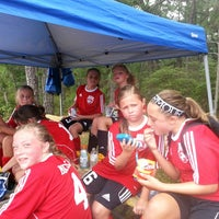 Photo taken at LMSA Soccer by Chris M. on 8/30/2014