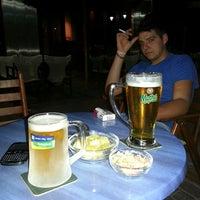 Photo taken at Nolimit Open Air Bar by Nikos T. on 9/11/2013