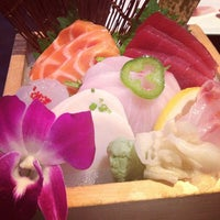 Photo taken at Ajisai Japanese Fusion by Allison H. on 7/12/2013