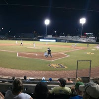 Photo taken at Bragan Field at the Baseball Grounds of Jacksonville by Laurentino Nieves @. on 7/12/2013