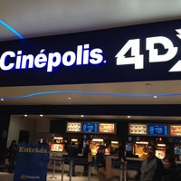Photo taken at Cinépolis by Adrian F. on 10/21/2013