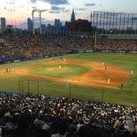 Photo taken at Meiji Jingu Stadium by Kenny M. on 4/27/2013