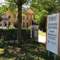 Photo taken at Schloß Ziethen by David L. on 6/18/2017