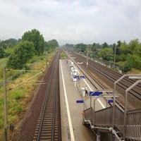 Photo taken at Bahnhof Berlin-Staaken by David L. on 7/8/2014