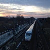 Photo taken at Bahnhof Berlin-Staaken by David L. on 2/5/2014