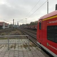 Photo taken at Speyer Hauptbahnhof by David L. on 11/17/2017