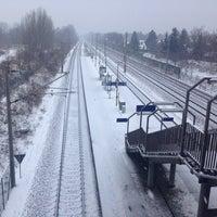 Photo taken at Bahnhof Berlin-Staaken by David L. on 1/27/2014