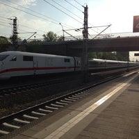 Photo taken at Bahnhof Berlin-Staaken by David L. on 4/22/2014