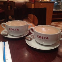Photo taken at Costa Coffee by Nader S. on 4/28/2014