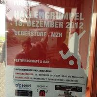 Photo taken at Fussballplatz FC Ueberstorf by Salo M. on 11/17/2012