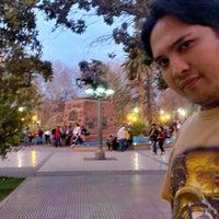 Photo taken at Parque Hipólito Yrigoyen by Alexandre M. on 8/16/2014