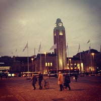 Photo taken at VR Helsinki Central Railway Station by Lorena O. on 10/22/2012