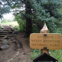 Photo taken at Moraine Park Campground by Josh W. on 7/15/2013