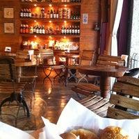 Photo taken at La Fiducia Café by Danielle D. on 4/7/2013