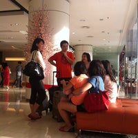 Photo taken at Sunway Hotel Lobby by Tony T. on 1/19/2014