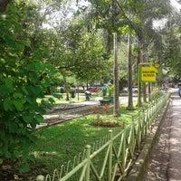 Photo taken at Taman Kencana by Soleh Istihori on 4/21/2014