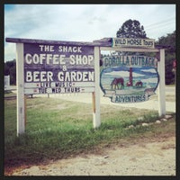 Photo taken at The Shack Coffee Shop & Beer Garden by Amy P. on 6/29/2014