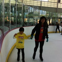 Photo taken at Yerba Buena Ice Skating & Bowling Center by Amy H. on 7/3/2013