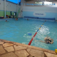 Photo taken at Acquapark bariri by Marcus T. on 8/6/2014
