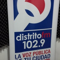 Photo taken at Distrito Fm 102.9 by Markheim R. on 12/1/2013