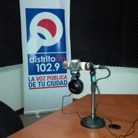 Photo taken at Distrito Fm 102.9 by Markheim R. on 1/20/2014