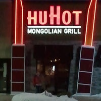 Photo taken at HuHot Mongolian Grill by Str8Giggles V. on 12/30/2012