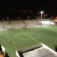 Photo taken at Estadio BasketBall C.P. Roser by Инна К. on 9/5/2013