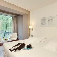 Photo taken at Barceló Bilbao Nervión by Barceló Hotels & Resorts on 2/27/2014