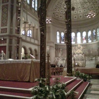 Photo taken at Franciscan Monastery of the Holy Land in America by Trever T. on 3/31/2013