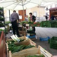 Das Foto wurde bei Gumpendorfer Bauernmarkt von Sabine J. am 4/24/2014 aufgenommen